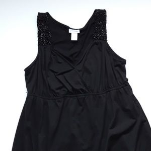 Motherhood Maternity Casual Black Dress